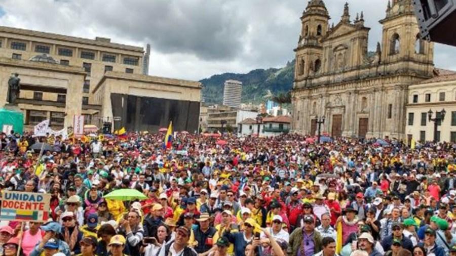 centrales obreras marchas cut 2019 duque