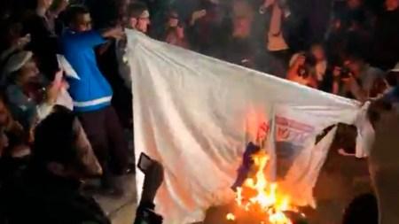 bandera fiscalia protesta