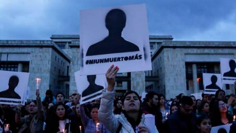 homicidios colombia