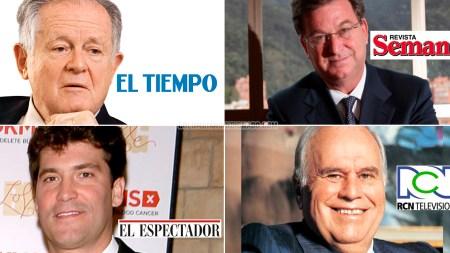 ricos de colombia medios de comunicacion dueños