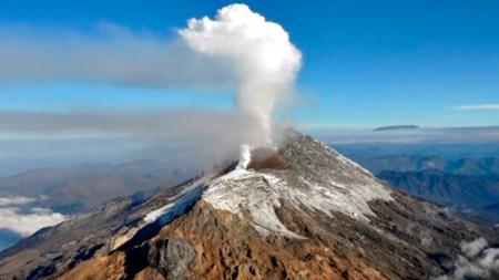 volcan nevado del huila temblor