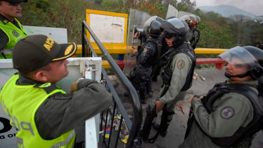 policia guardia venezuela
