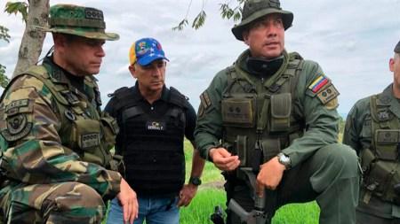 tropas soldados venezuela colombia