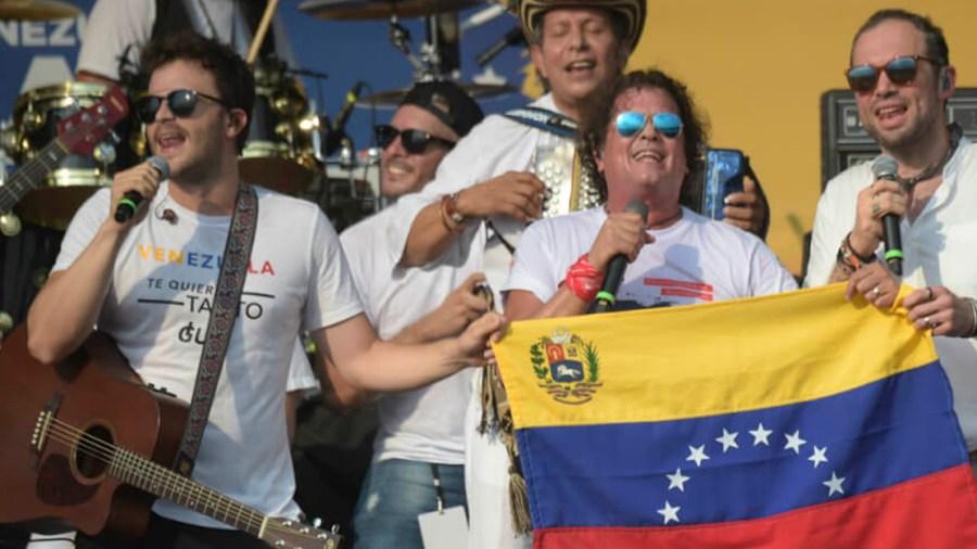 venezuela ad live concierto donaciones