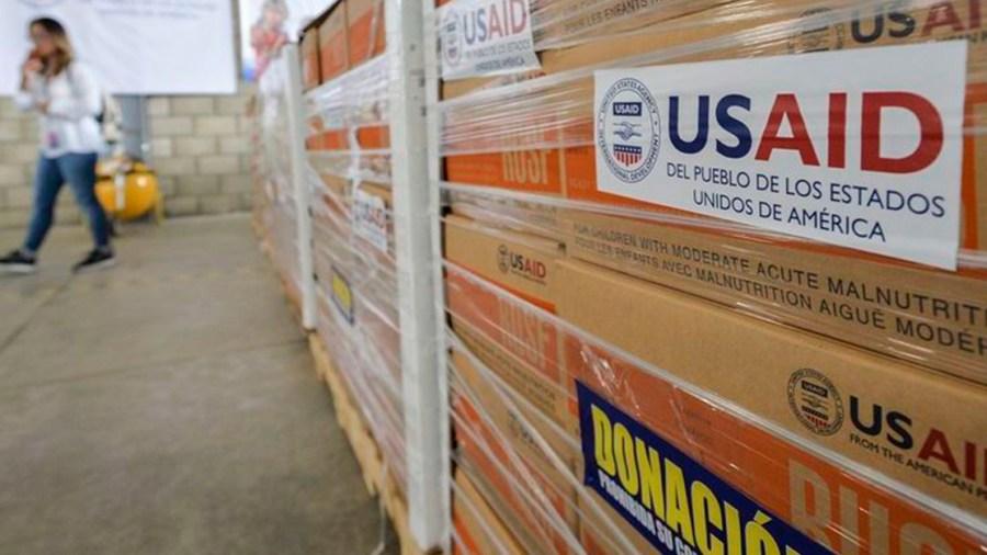 venezuela estados unidos donacion