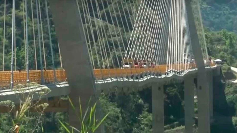 puente ondulaciones