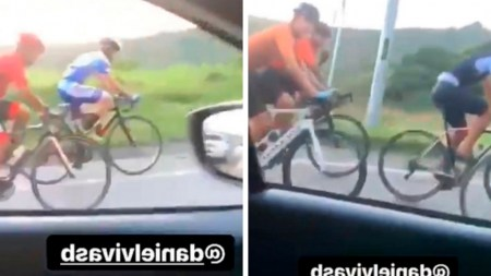 ciclistas insultos