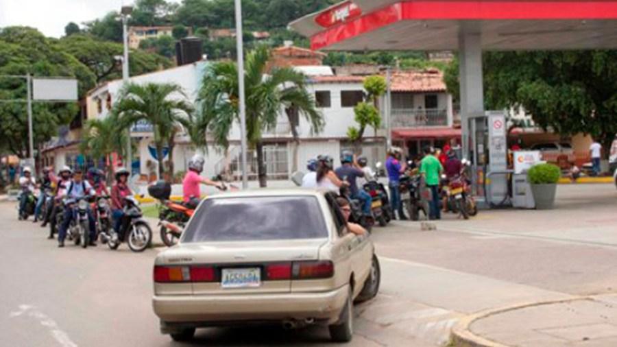 filas cucuta gasolina