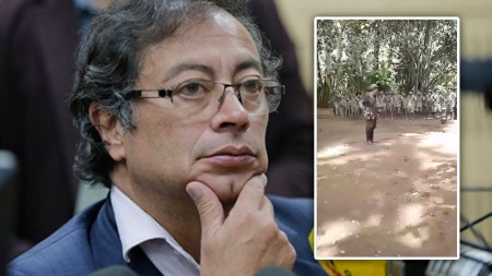 gustavo petro paras colombia video