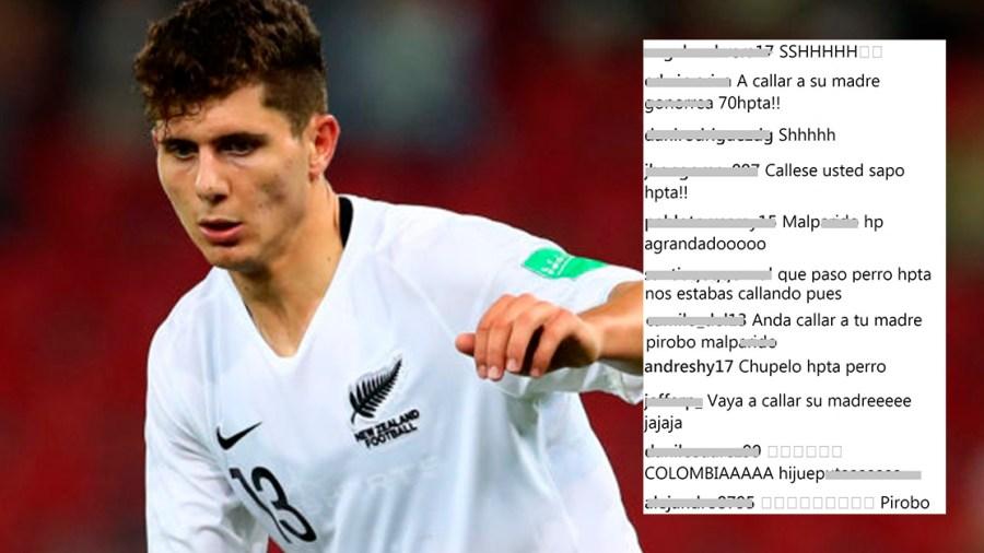insultos jugador colombia