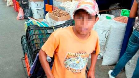 niños trabajando colombia