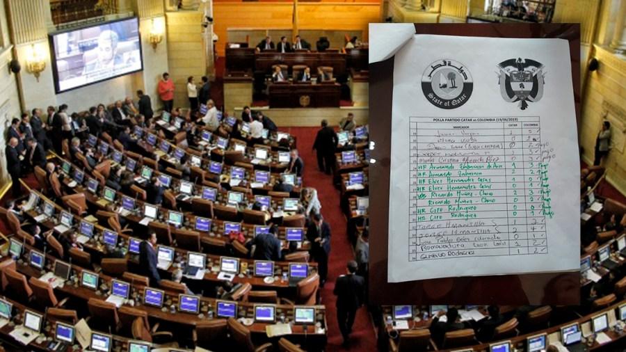 polla samper congreso colombia