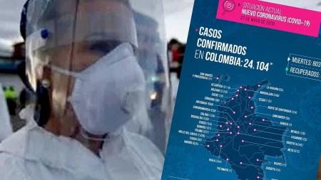 casos confirmados colombia