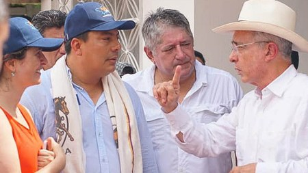 gobernador amazonas uribe