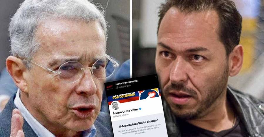 """A Uribe """"le duele la verdad"""": expresidente bloqueó la cuenta de ..."""