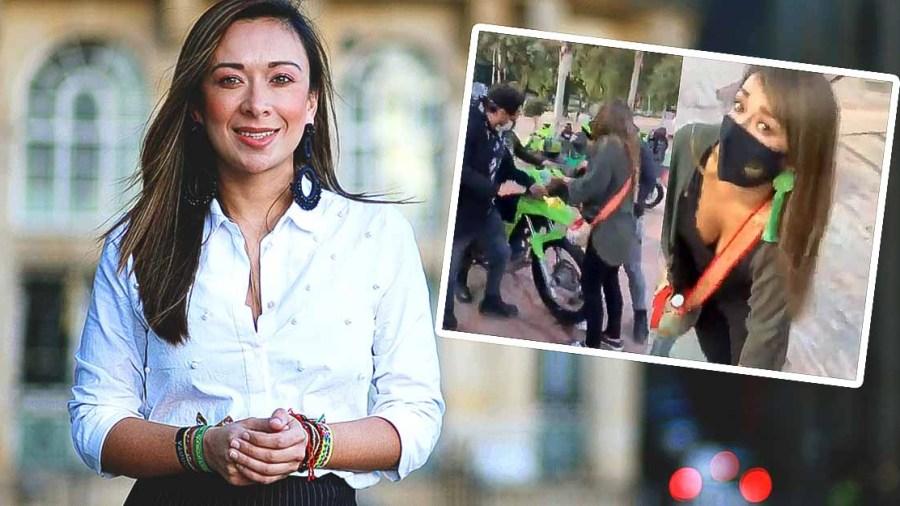 katherine miranda bogota policia