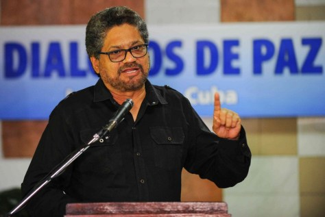 El jefe negociador de las FARC-EP, Luciano Marín Arango, también conocido como Iván Márquez / primiciadiario.com/