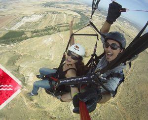 Volar en parapente