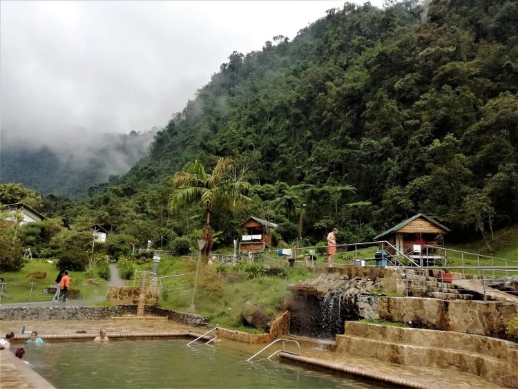 Hot springs of San Vicente - Santa Rosa de Cabal - Nature Reserve - Coffee Region - Colombia - Transportation Plan 1