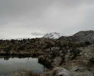 Snowy Santa Isabel