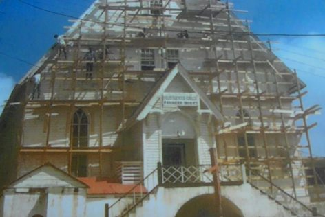 Construction Baptist Church 1844 - San Andres Islands History and Culture - Travel Blog - ColombiaTours.Travel