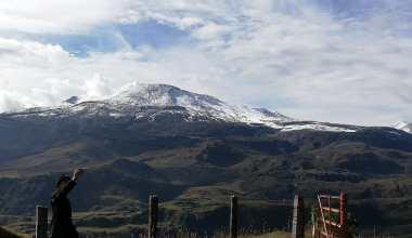 Nevado del Ruíz - Los Nevados National Natural Park - Colombia - High Mountain - Tourist Plans - Landscape