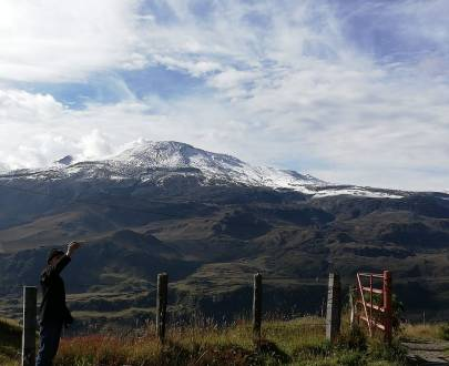 Nevado del Ruíz - Los Nevados National Natural Park - Colombia - High Mountain - Tourist Plans - Landscape