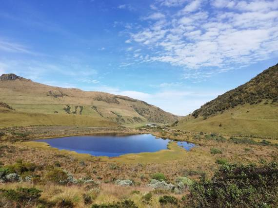 Nevado del Ruíz - Parque Nacional Natural los Nevados - Colombia - Alta Montaña - Planes Turísticos - Laguna Negra