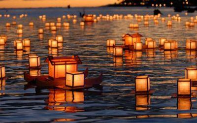 Festival Obon en Japón