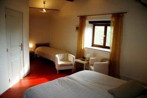 kamer 4 derde bed