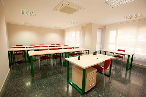 Salas de reunión y aulas de formación
