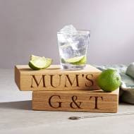 Gin & Tonic Board - NotOnTheHighStreet.co.uk - £45