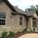 Buckskin squared house side