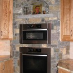Elite Blue Granite Paula's Dream Blend kitchen