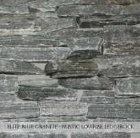 Elite Blue Granite Rustic Low Rise Ledgerock