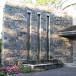 Elite Blue Granite Sawn Height Water Feature wall