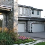 Elite Blue Granite Sawn height house garage