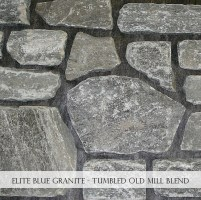 Elite Blue Granite Tumbled Olde Mill Blend