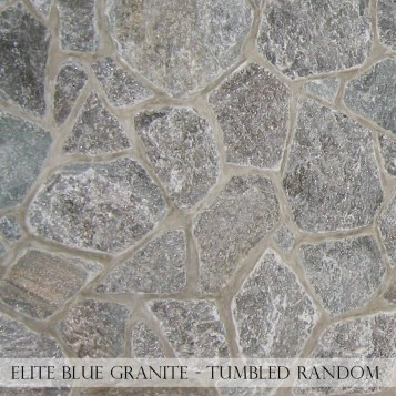 Elite Blue Granite Tumbled Random