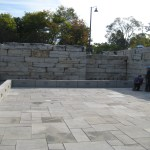 Charcoal Limestone Square Cut Flagstone