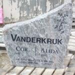 Elite Blue Granite Headstone