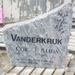 Elite Blue Granite Headstone