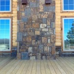 Rockwood Farmhouse Brown & Blue Squared tallwall