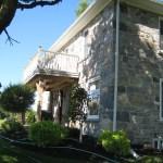 after restoration stone house