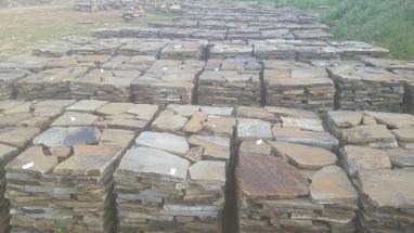 earthtone random  flagstone