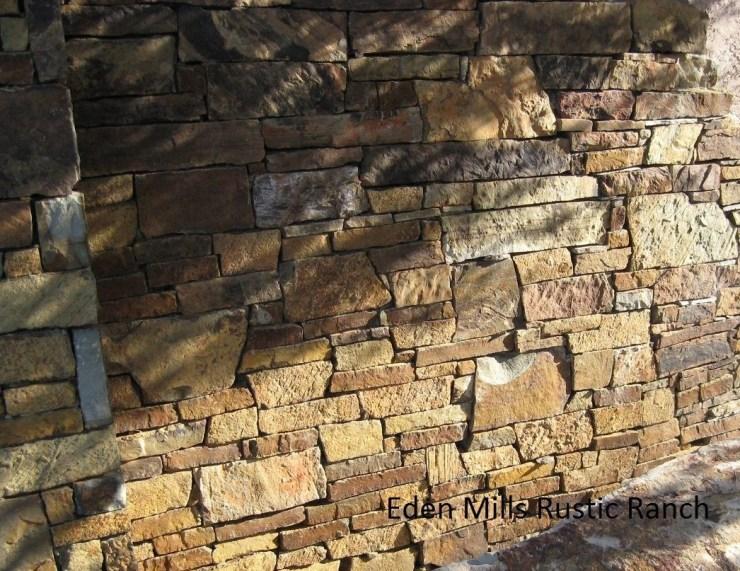 eden mills rustic ranch wall