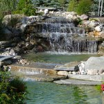 Elite Blue Granite Waterfall