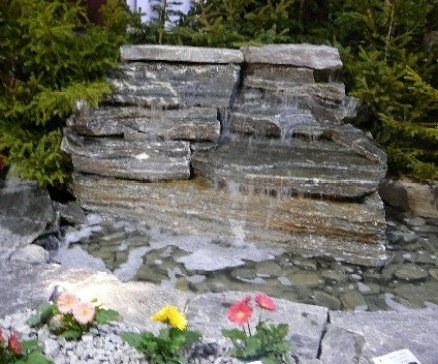 Elite Blue Granite Mini Waterfall
