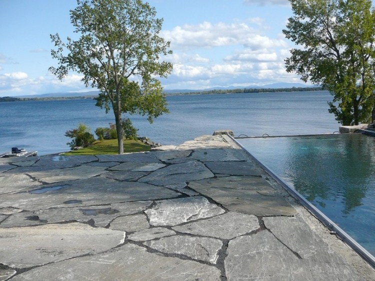 Elite Blue Granite Oversized Flagstone