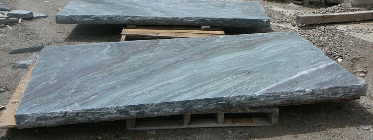 Elite Blue Granite Sawn & Textured Hearth